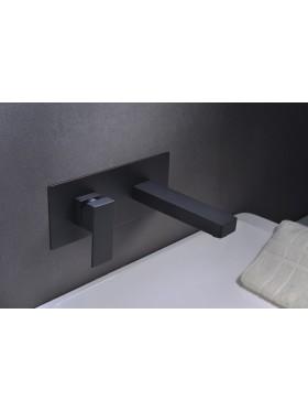 Grifo de lavabo Negro Suiza Imex