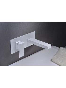 Grifo de lavabo Blanco Suiza Imex