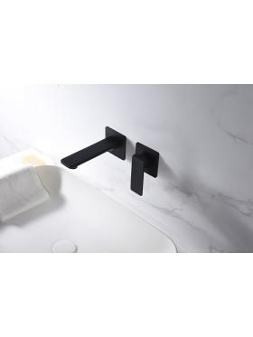 Grifo de lavabo Negro Fiyi Imex