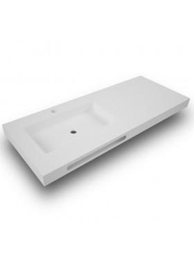 Encimera de baño suspendida Solid surface