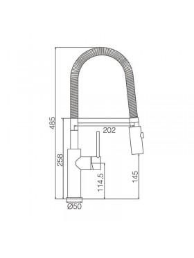 Ficha técnica de grifo de fregadero Toulouse Imex