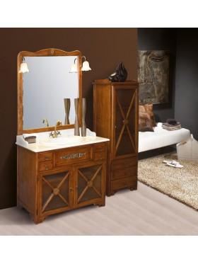 Mueble de baño rústico Alba