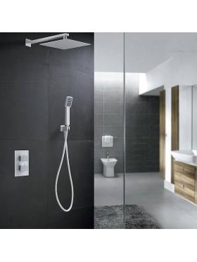 Conjunto de ducha Blanco Cíes