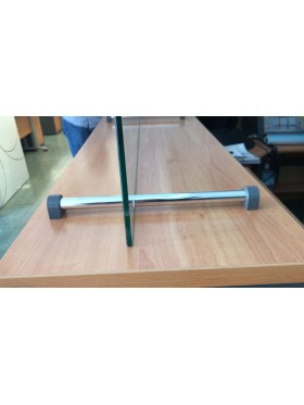 detalle del soporte de aluminio