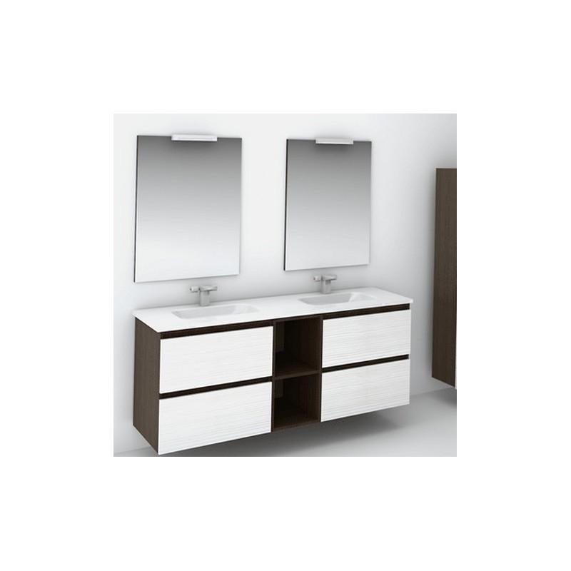Mueble de ba o modular a medida for Muebles de bano dobles