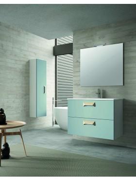 Mueble de baño Berta aguamarina