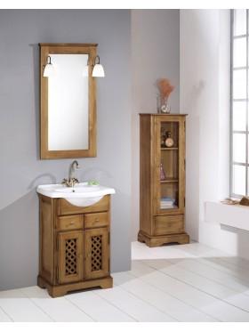 Mueble de baño rústico...