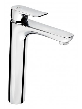 Grifo de lavabo caño alto Sayro cromo