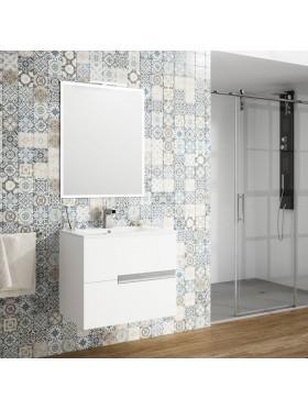 Mueble de baño suspendido Mitreo Conjunto de 60 cm