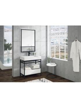 Mueble de baño con patas Prisma 80 cm