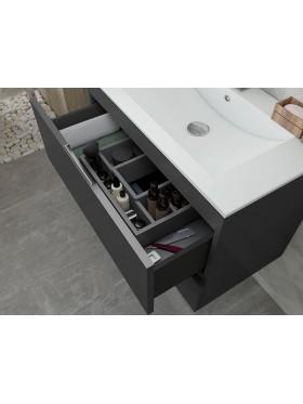 Mueble de baño Maya gris