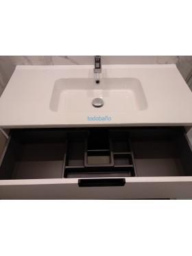 detalle del lavabo y el cajón