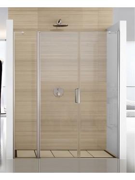 Mampara de ducha abatible acero inox G3