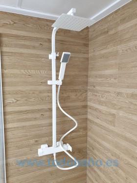 Conjunto ducha Blanco Fiyi