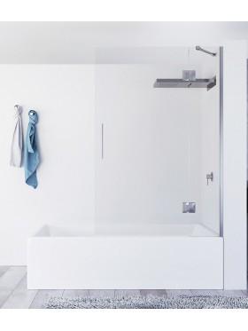 Mampara de bañera Fijo + abatible Aure
