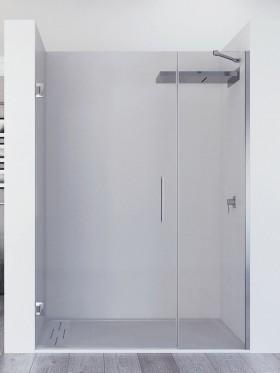 Mampara de ducha abatible...