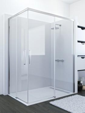 Mampara de ducha rectangular Narvi
