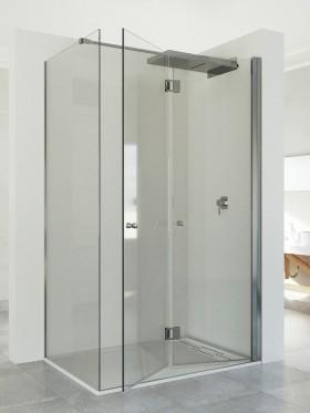 Mampara de ducha Plegable Cloe + fijo lateral