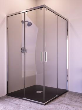 Mampara de ducha angular Parma