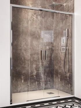 Mampara de ducha frontal...