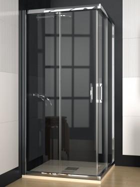 Mampara de ducha angular...