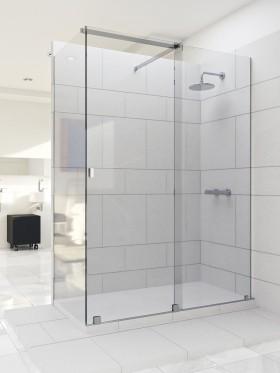 Mampara de ducha angular corredera Voel