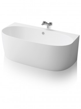 Bañera de Solid surface Becca