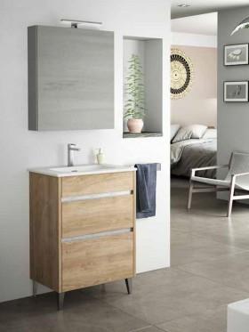 Mueble de baño con patas Berna