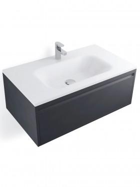 lavabo solid surface encastrado en mueble 80 cm