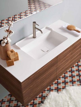 Lavabo solid surface Amelie