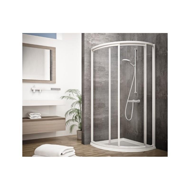 Mampara semicircular de ducha edipo seviban - Mamparas de ducha acrilicas ...