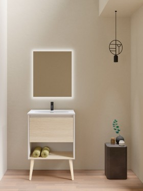 Mueble de baño con patas Nara