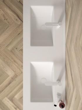Mueble de baño con patas París