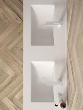Mueble de baño doble seno...