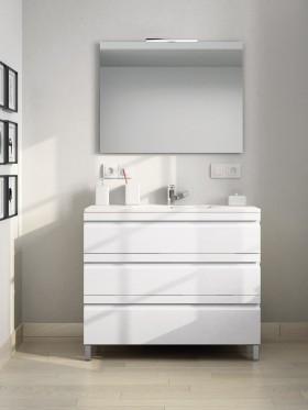Mueble de baño con patas...