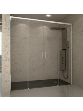 Mampara frontal de ducha América IV