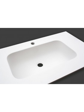 Lavabo Encimera Solid Surface 48 X 27 X 12