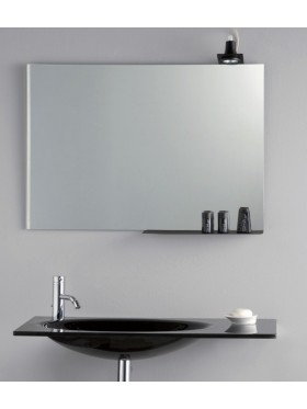 Espejo liso cristal luna pulida Basic, Eco House