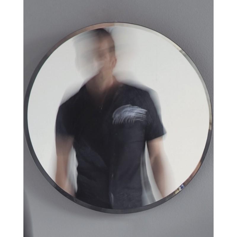 Espejo de ba o circular bisel eco house for Espejo circular