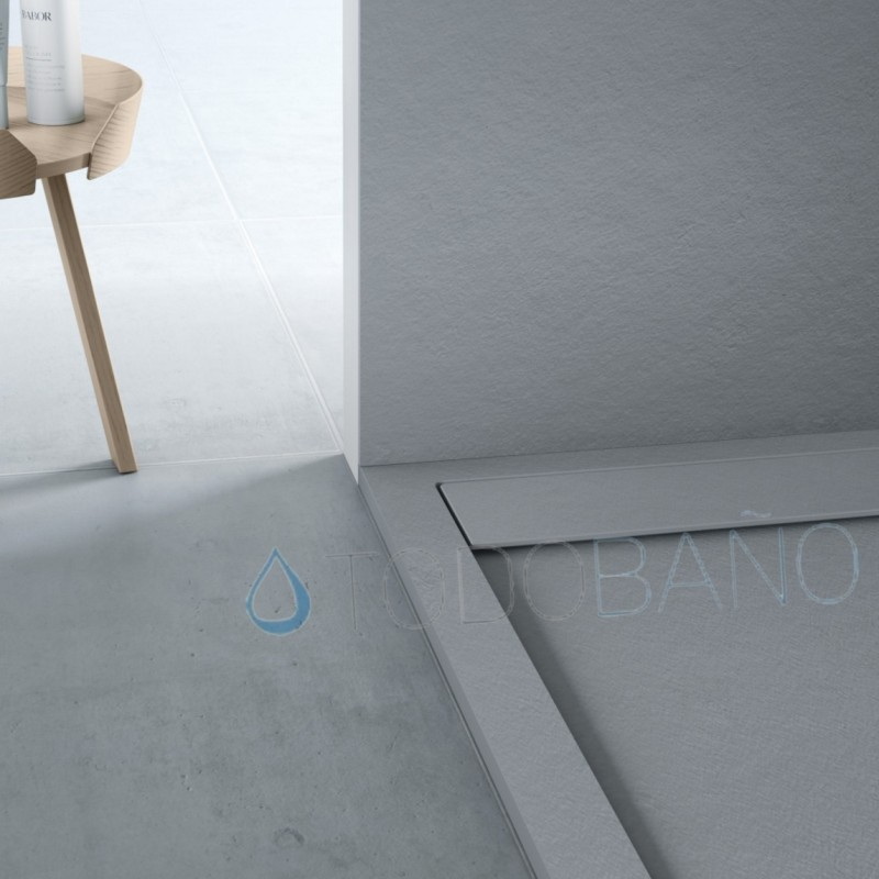 Plato de ducha de resina nature - Plato de ducha resina ...