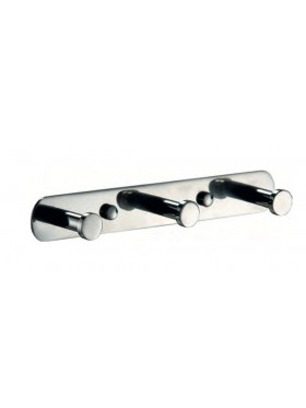 Percha Triple Acero Inoxidable