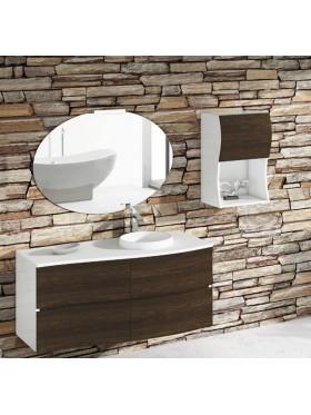 Mueble de baño Urban Open Roble Fumé