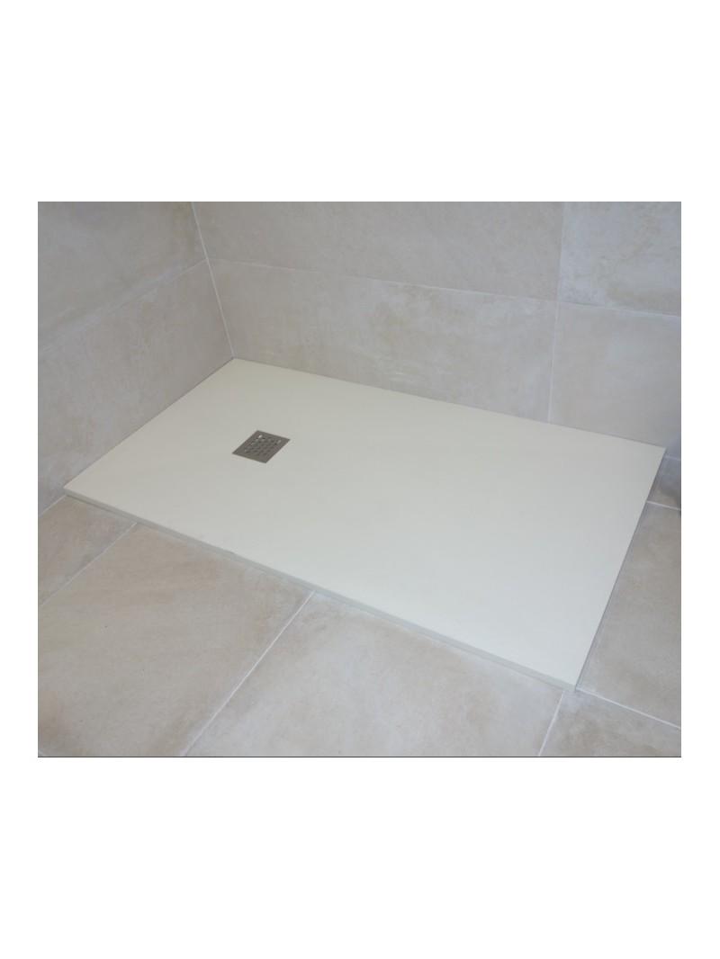 Plato de ducha de resina textura piedra - Platos de ducha minerales ...