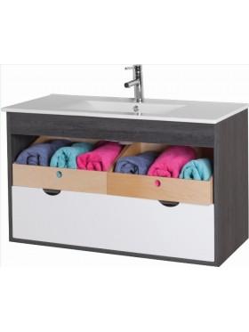 Mueble de baño suspendido Ekor