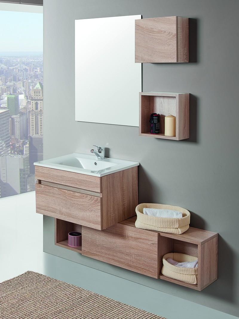 Mueble de ba o suspendido domin for Imagenes de muebles de bano