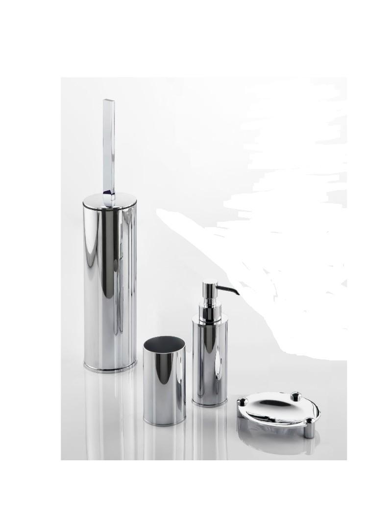 Conjunto de accesorios serie luxor fabricados en acero for Conjunto accesorios para bano