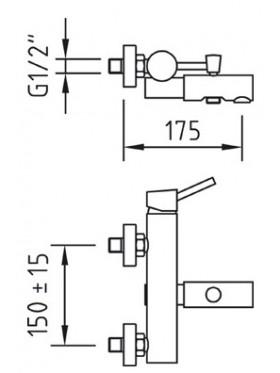 Caimán termostático