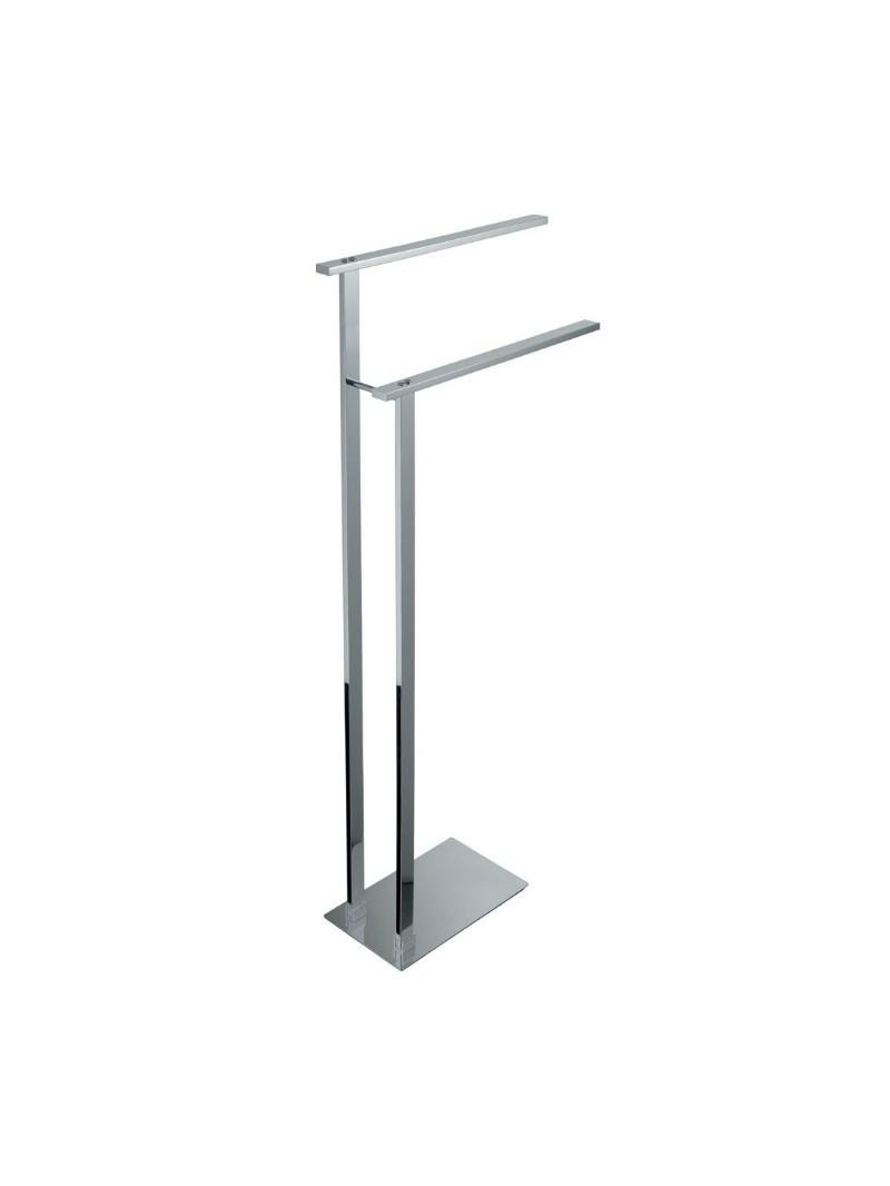 Toallero de pie serie lys fabricado en acero for Accesorios de bano acero inoxidable