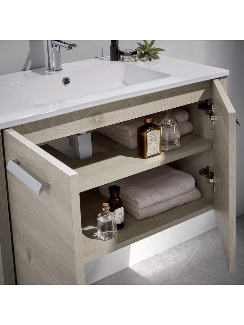 Mueble de ba o nova 80cm - Mueble de bano online ...