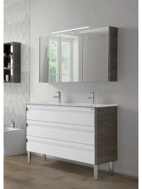 Mueble de baño Barcelona 120 cm 3 cajones